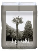 The War Cemetery Duvet Cover