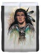 The Warrior Duvet Cover