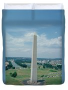 The Washington Monument Duvet Cover by American School
