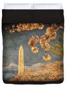 The Washington Monument Duvet Cover