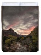 The Watchman Sunset Duvet Cover