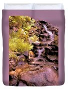 The Water Falls Duvet Cover