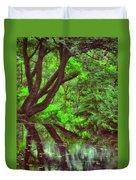The Water Margins - Nutclough Woods Duvet Cover