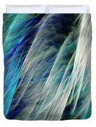 The Waterfall Abstract Duvet Cover
