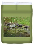 The Watering Hole Duvet Cover