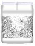 The Wave Of Time And Space Duvet Cover