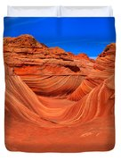 The Wave Panorama - X Duvet Cover