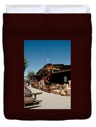 The Way It Was Virginia City Nv Duvet Cover