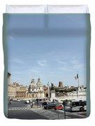 The Way To Piazza Venezia Duvet Cover