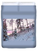 The Way To The Sky 2 Duvet Cover