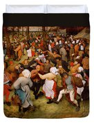 The Wedding Dance Duvet Cover by Pieter the Elder Bruegel