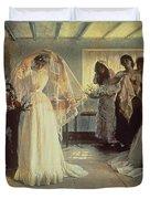 The Wedding Morning Duvet Cover