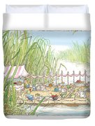 The Wedding Party Duvet Cover