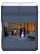 The Wedding Party Detail Duvet Cover