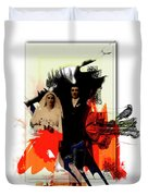 The Wedding Picture Duvet Cover