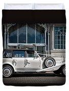 The Weddingmobile Duvet Cover