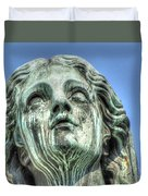The Weeping Sculpture Duvet Cover