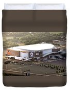 The Wells Fargo Center Duvet Cover