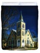The Wenonah United Methodist Church Duvet Cover