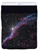 The Western Veil Nebula Duvet Cover by Roth Ritter