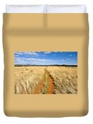 The Westward Trail Duvet Cover