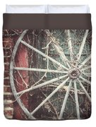 The Wheel And The Ivy Duvet Cover