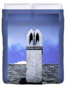 The White Chimney Duvet Cover