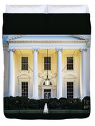The White House Duvet Cover by John Greim