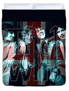 The Who Poster  Duvet Cover