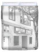 Mystery Daze Mystery Street Duvet Cover