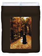 The Widow Duvet Cover by Horace de Callias