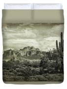 The Wild West Of The Superstitions  Duvet Cover