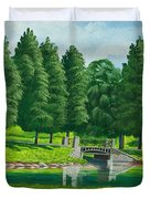 The Willow Path Duvet Cover