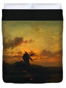 The Windmill 1859 Duvet Cover