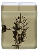 The Windmills Of My Mind Duvet Cover