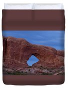 The Window At Arches N.p. After Dark Duvet Cover