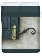 The Window Latch Duvet Cover