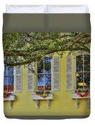 The Windows Of Amelia Island Duvet Cover