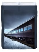 The Windows Of The Train Duvet Cover