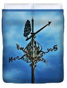 The Winds Of Time Duvet Cover