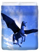 The Winged Horse Duvet Cover