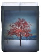 The Winter Berries Duvet Cover