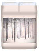 The Winter Forest Duvet Cover
