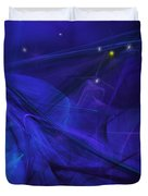 The Wizard Mid-incantation Duvet Cover