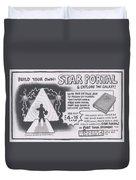 Wizbang Star Portal Duvet Cover