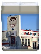 The Wonder Bar, Asbury Park Duvet Cover