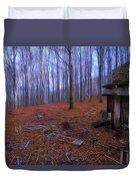 The Wood A La Magritte - Il Bosco A La Magritte Duvet Cover