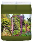 The Wooden Arch Duvet Cover