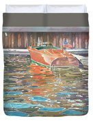 The Wooden Boat Duvet Cover