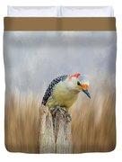 The Woodpecker Duvet Cover